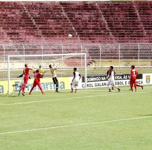 jogo Noroeste e Flamengo (Foto: Sérgio Pais)