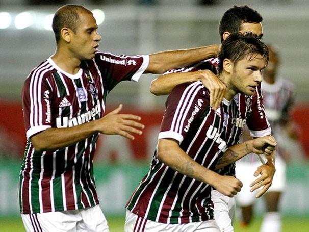Time do Fluminense enfrenta a Portuguesa nesta quarta (Foto: Photocamera/Reprodução: Globoesporte.com)