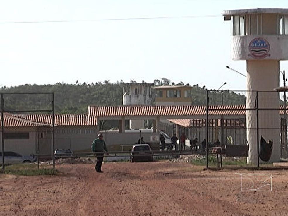 Complexo Penitenciário de Pedrinhas, em São Luís (Foto: Reprodução/TV Mirante)
