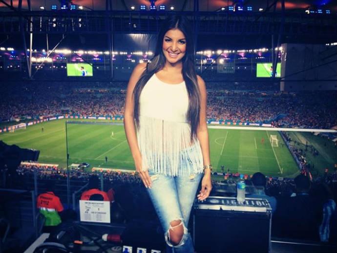 Jale no estádio