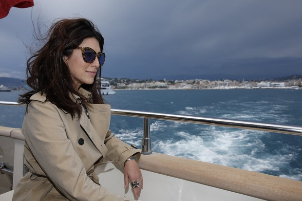 Fernanda Paes Leme em Cannes (Foto: Felipe Panfili / AgNews)