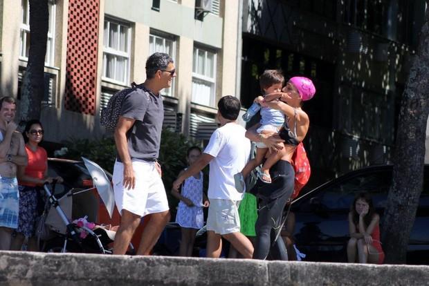 Eduardo Moscovis e Cynthia Howlett (Foto: JC Pereira / AgNews)