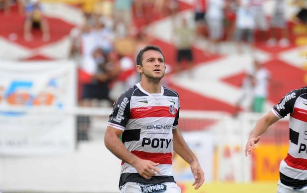 Edson Borges - Santa Cruz (Foto: Altemar Carneiro/Pernambuco Press)