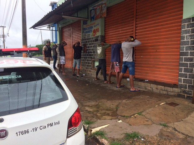 Operação Natalina em Pará de Minas (Foto: PM/Divulgação)