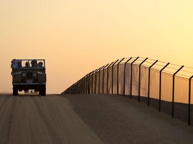 Sem dúvidas o deserto de Dubai conquistou a todos! (Foto: Isabella Pinheiro/Gshow)