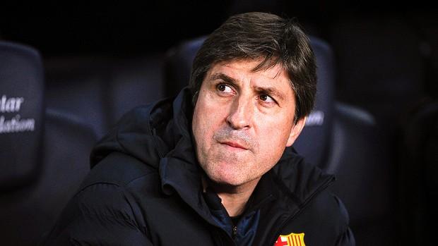 Jordi Roura auxiliar do Barcelona (Foto: Getty Images)