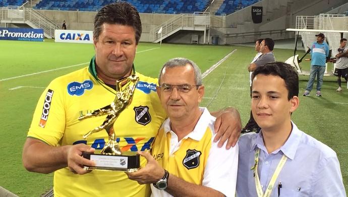 André Dias - preparador de goleiros Ponte Preta - ex-goleiro do ABC (Foto: Klênyo Galvão/GloboEsporte.com)