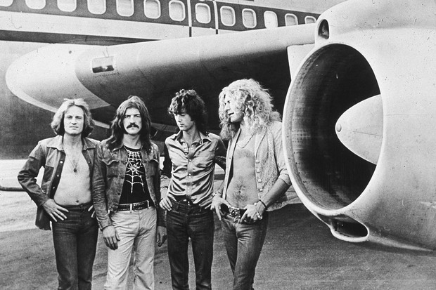 Led Zeppelin no auge, em 1973 (Foto: Hulton Archive/Getty Images)