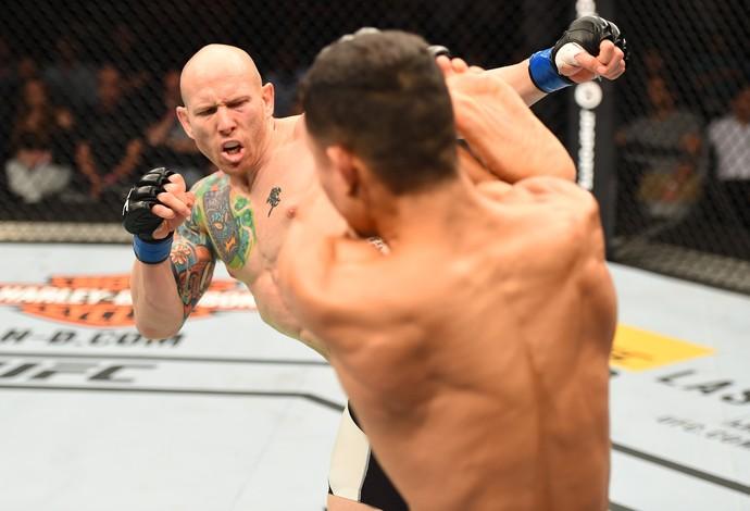 Josh Emmett Jon Tuck UFC Holanda (Foto: Getty Images)
