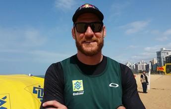 Diego e Leandro Damião são bem avaliados por Alison, do vôlei de praia