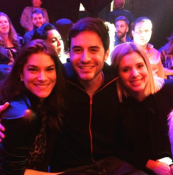 Priscila Fantin, Ricardo Tozzi e Dani Valente (Foto: Arquivo Pessoal)