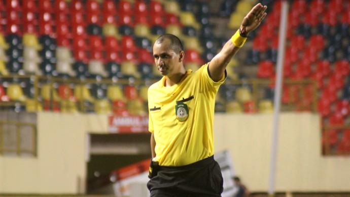 Arnildo Lino dos Santos, árbitro de Rondônia (Foto: João Paulo Maia)