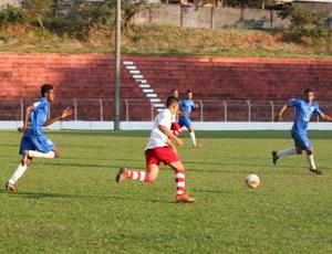 Inter de Minas x Dínamo, Copa Regional sub-20, estádio Airton Borges, Uberlândia (Foto: Vilmar Silva/Garra Esportes)