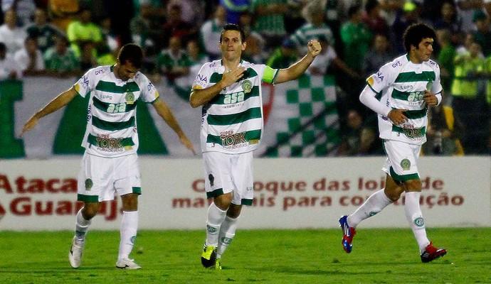 Fumagalli guarani gol palmeiras (Foto: Gustavo Tilio / Globoesporte.com)