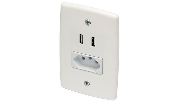 Tomada USB Plugma (Foto: Reprodução/Plugma)