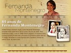 Dama da televisão brasileira, Fernanda Montenegro comemora aniversário