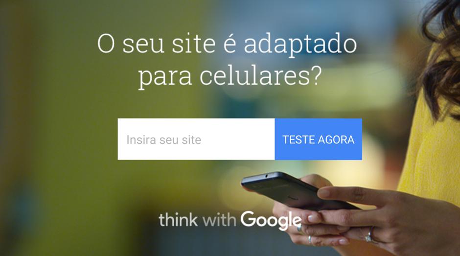 """Serviço """"Teste Meu Site"""" do Google: ele diz se o site da empresa é preparado para o smartphone (Foto: Divulgação)"""