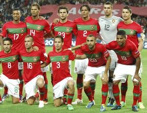 Portugal Seleção Euro 07/10/2012 (Foto: Agência AFP)