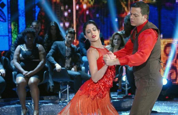Carol Castro foi a vencedora da edição 2013 da Dança dos Famosos (Foto: Zé Paulo Cardeal/TV Globo)