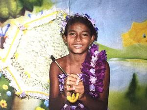 Maria Eduarda, de 11 anos (Foto: Divulgação/Polícia Civil)