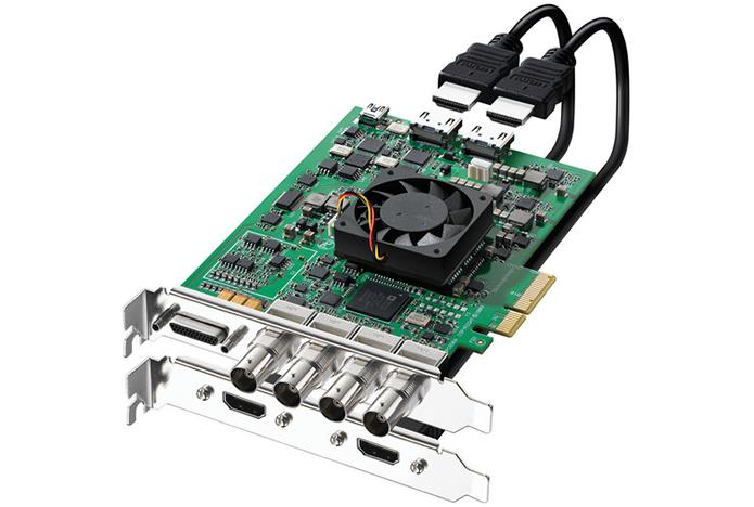 Interface PCI é rápida o suficiente para permitir placas de captura capazes de gerar material em 4K (Foto: Divulgação/Decklink)