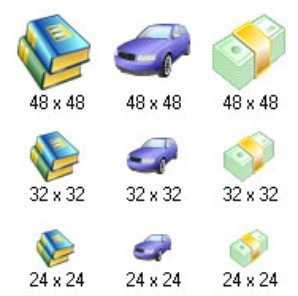 ícones de trabalho