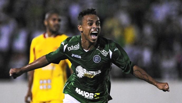 Guarani x Atlético Sorocaba Fernandinho Atacante (Foto: Rodrigo Villalba / Divulgação Guarani)