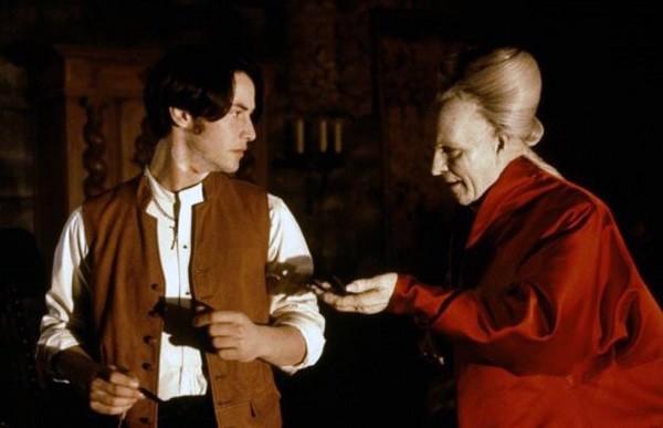Keanu Reeves em 'Drácula de Bram Stoker' (1992) (Foto: Divulgação)