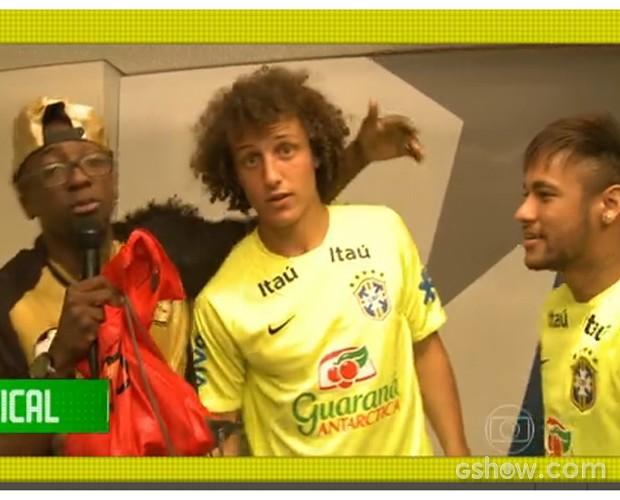 David Luiz participa do Esquenta! (Foto: Esquenta/TV Globo)