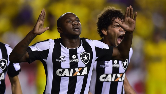 Sassá Barcelona de Guayaquil x Botafogo  (Foto: AFP)