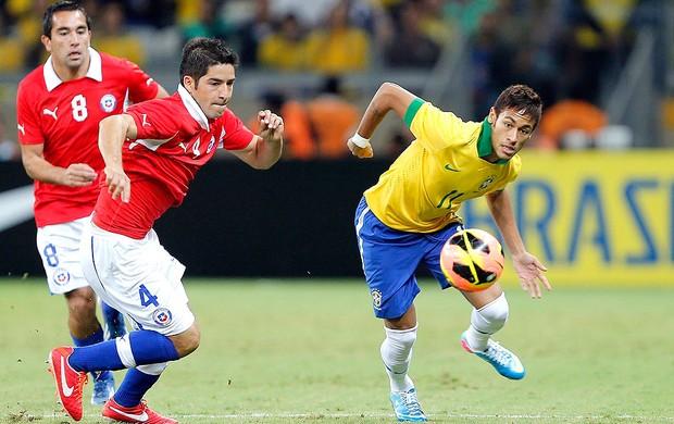 Neymar jogo Brasil Chile Mineirão (Foto: Sergio Moraes / Reuters)