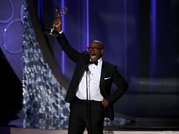 """Courtney B. Vance ganhou como melhor ator de série limitada ou filme para a TV com """"American Crime Story"""" (Foto: Mike Blake/Reuters)"""