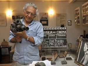 O cineasta paraibano Vladimir Carvalho é homenageado na mostra (Foto: José Varella/ Divulga Ação)