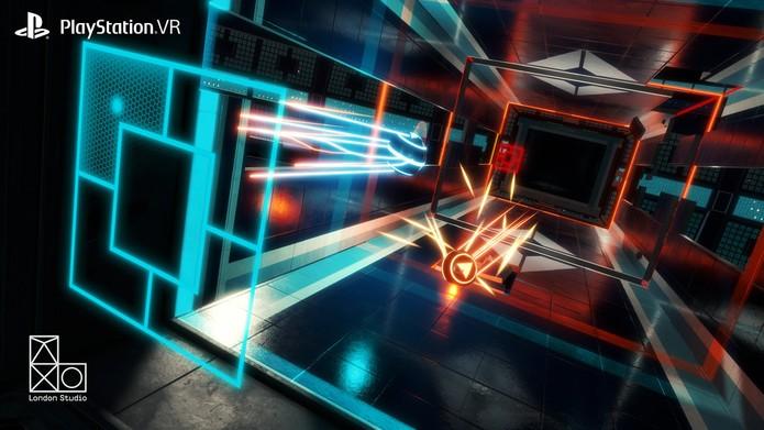 Danger Ball mistura Tron com Pong (Foto: Divulgação/Sony)
