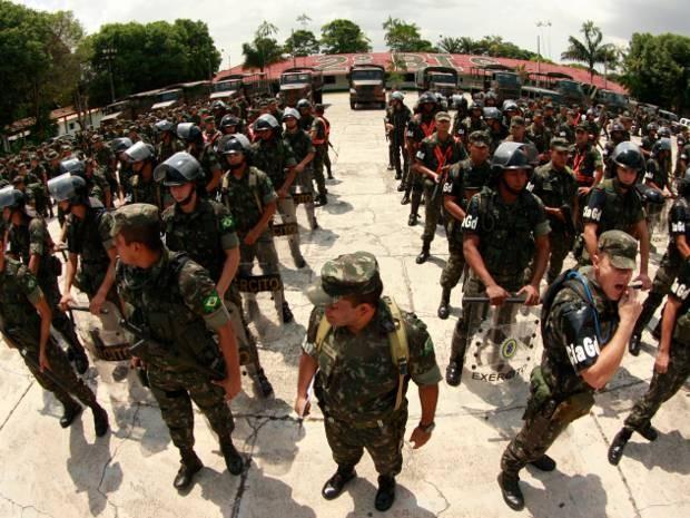 TSE determinou envio de tropas federais para garantir seguranças durante as eleições no Pará. (Foto: Tarso Sarraf/O Liberal)