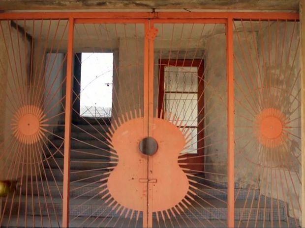 Obra de 'castelo' com 100 quartos de José Rico ficou inacabada em Limeira (Foto: Reprodução/TV Globo)