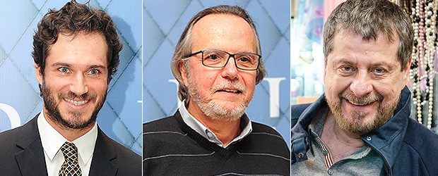 [BELEZA Barbas] Paulo Rocha, Tato Gabus Mendes e Flávio Galvão (Foto: TV Globo/Divulgação)