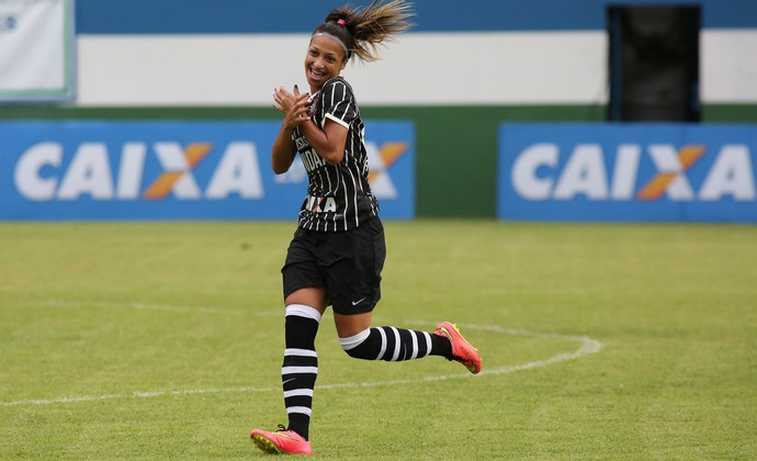 Corinthians futebol feminino (Foto: Marcos de Paula / ALLSPORTS)