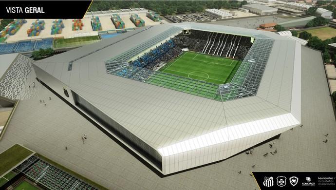 Arena Santos (Foto: Reprodução)