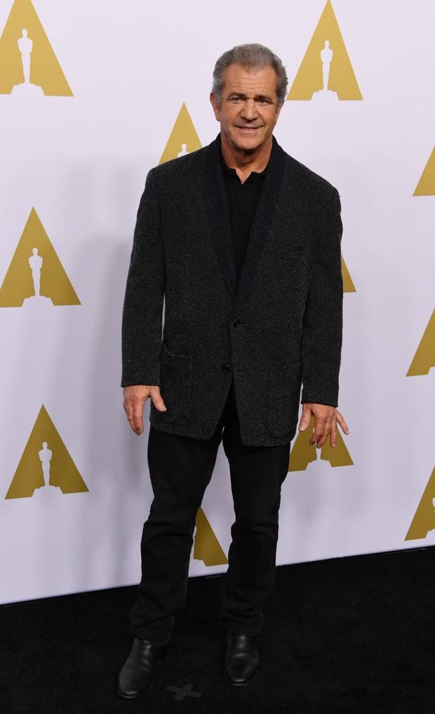 Mel Gibson em evento em Los Angeles, nos Estados Unidos (Foto: Mark Ralston/ AFP)