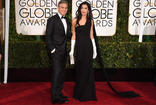 George Clooney e Amal Alamuddin Clooney (Foto: Agência Getty Images)