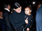 Com 1 ano, filha de Kim Kardashian já tem a própria stylist, diz site