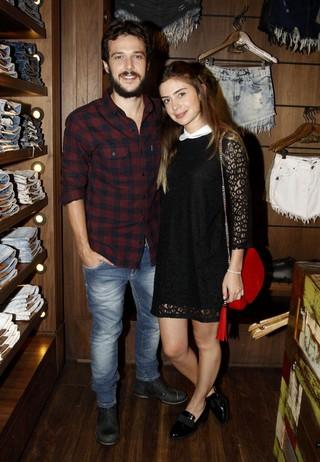 Jayme Matarazzo e Luiza Tellechea  (Foto: Celso Tavares/EGO)