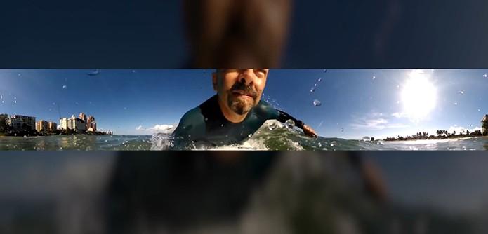 Câmera registra vídeos e imagens em 360 graus (Foto: Divulgação/VSN Mobil)