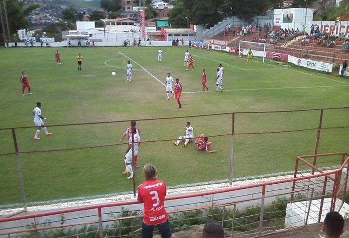Vitória por 3 a 1 diante do Tricordiano deixa o América TO com chances na última rodada. (Foto: Thalles Lopes de Souza)