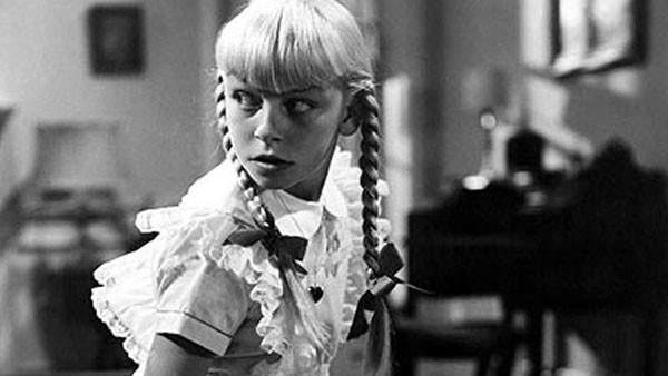 Patty McCormack em 'Tara Maldita' (1956) (Foto: Divulgação)