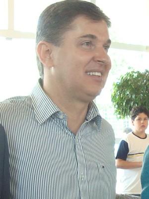 Eduardo Lopes, gerente comercial da TV Tem Itapetininga. (Foto: Deise Voigt / G1)