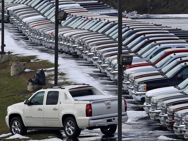 Picapes continuam respondendo por mais da metade dos carros vendidos nos EUA (Foto: Gene J. Puskar/AP)