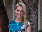 Ana Hickmann presta depoimento após sofrer atentado em hotel
