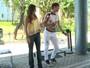 Rafael Vitti aceita desafio do 'Vídeo Show' e dança Justin Bieber: 'Adoro pagar mico'